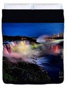 The Evening Rainbow Duvet Cover