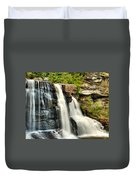 The Face Of The Falls Duvet Cover
