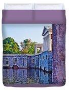 The Fairmount Waterworks In Philadelphia Duvet Cover