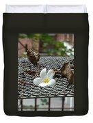 The Fallen Flower Duvet Cover