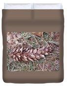 The Fallen Pine Duvet Cover