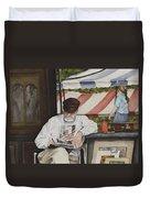 The Festival Artist Duvet Cover