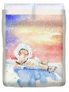 The Figure Skater 6 Duvet Cover