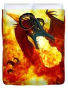 The Fire Dragon Duvet Cover