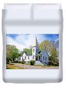 The First Christian Church Of Harriman 2 Duvet Cover