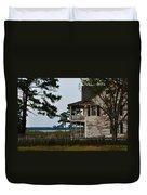 The Fishermans House Duvet Cover