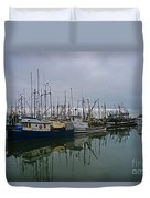 The Fishing Fleet Duvet Cover