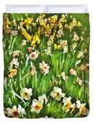 The Flower Bed Duvet Cover