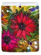 The Flowers In My Son's Garden Duvet Cover