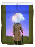 The Fool On The Hill Duvet Cover