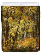 The Forest Beckons Duvet Cover