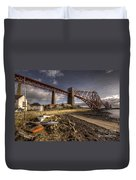 The Forth Rail Bridge Duvet Cover