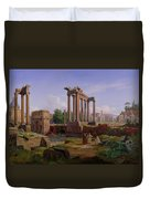 The Forum Rome  Duvet Cover