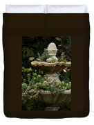 The Fountain Painterly Duvet Cover by Ernie Echols