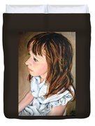 The French Girl Duvet Cover