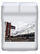 The Gateway Diner - Trooper Pa Duvet Cover
