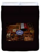 The General Store In Luckenbach Tx Duvet Cover