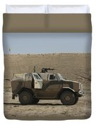 The German Army Atf Dingo Armored Duvet Cover