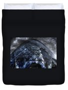The Gherkin - Neckbreaker View Duvet Cover