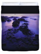 The Giants Causeway, County Antrim Duvet Cover