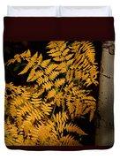The Golden Fern Duvet Cover