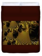 The Golden Mascarade Duvet Cover