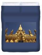 The Golden Palace Laos Duvet Cover