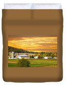 The Golden Ranch Duvet Cover