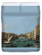 The Grand Canal Duvet Cover by Antonio Canaletto