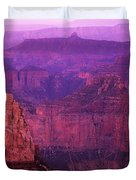The Grand Canyon North Rim Duvet Cover