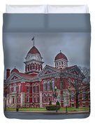 The Grand Old Lady Duvet Cover