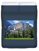The Grandeur Of Yosemite Falls Duvet Cover
