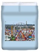 The Great American Midway Duvet Cover