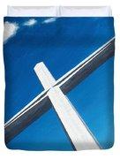 The Great Cross - Resurrection Duvet Cover