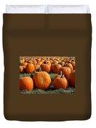 The Great Pumpkin Patch Duvet Cover