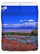 The Great Salt Lake From Antelope Island Duvet Cover