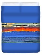 The Great Sunset Duvet Cover