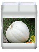 The Great White Pumpkin Duvet Cover