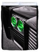 The Green Hornet - Black Beauty Close Up Duvet Cover