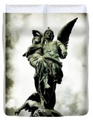 The Guardian Angel Duvet Cover