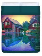The Guest Cottage Duvet Cover by Kevyn Bashore