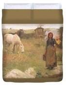 The Gypsy Camp Duvet Cover