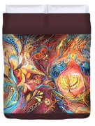 The Hanukkah Dream Duvet Cover
