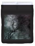 The Haze Of The Moon Duvet Cover