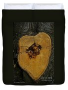 The Heart Of A Tree Duvet Cover