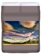 The Heavy Clouds Duvet Cover