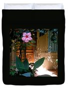 The Hibiscus Greeter Duvet Cover