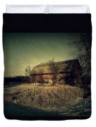 The Hiding Barn Duvet Cover by Joel Witmeyer