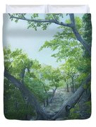 The Hiking Trail Duvet Cover