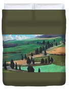 The Hill Duvet Cover